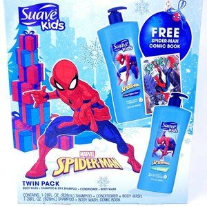 Suave Kids Marvel Spiderman Twin Pack Shampoo Cond